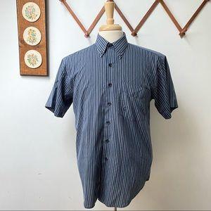 Guy Laroche Paris Vintage Striped Button Shirt